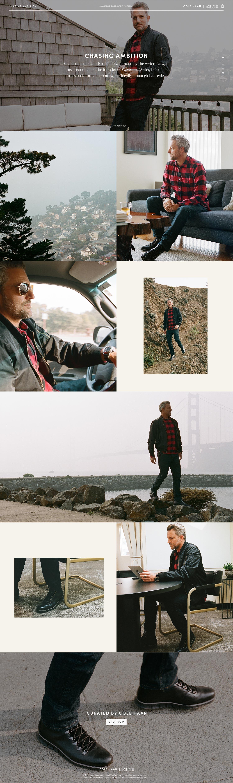 Cole Haan – Jon Rose – Desktop