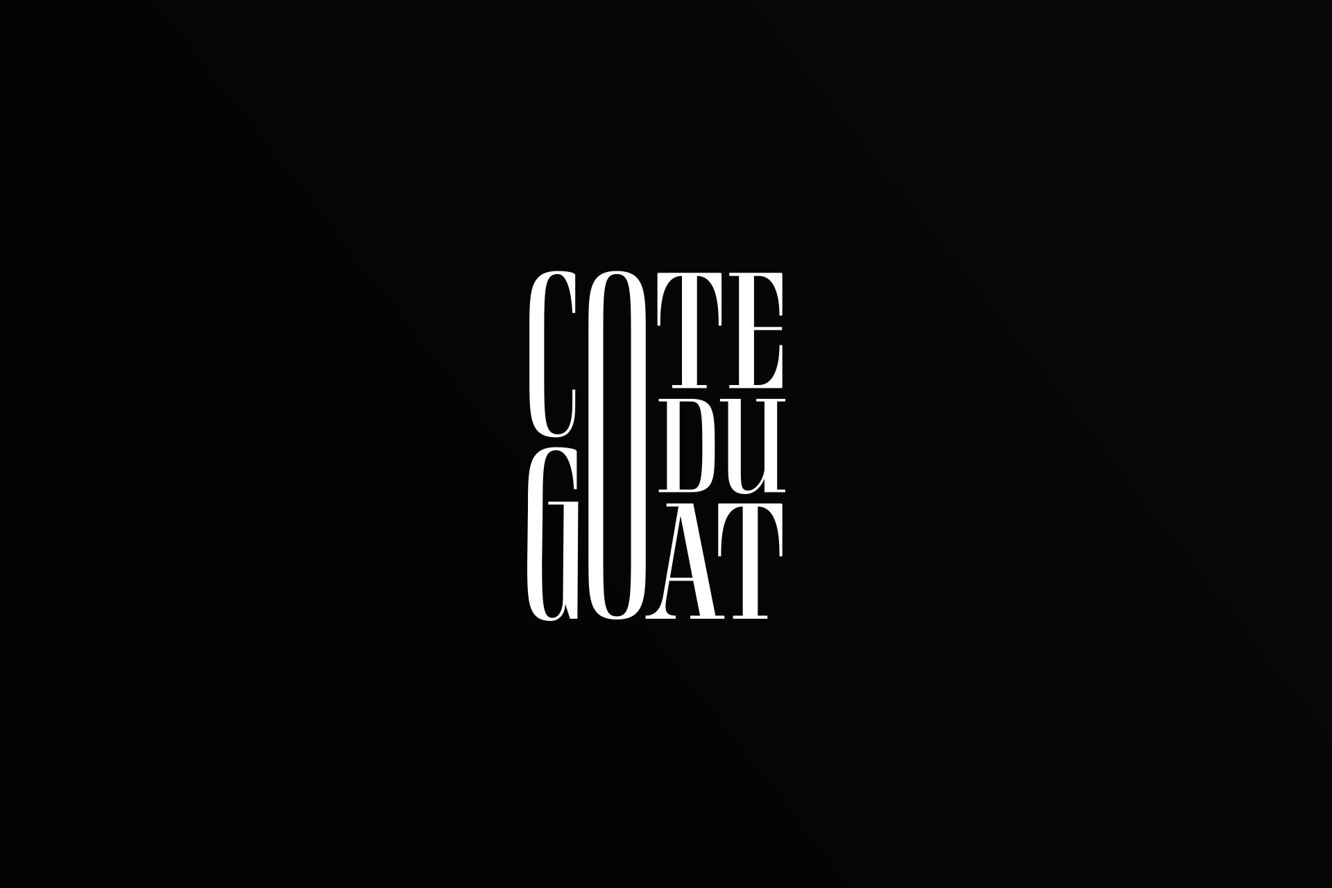 Edgardo Sanchez Logos – Cote du Goat