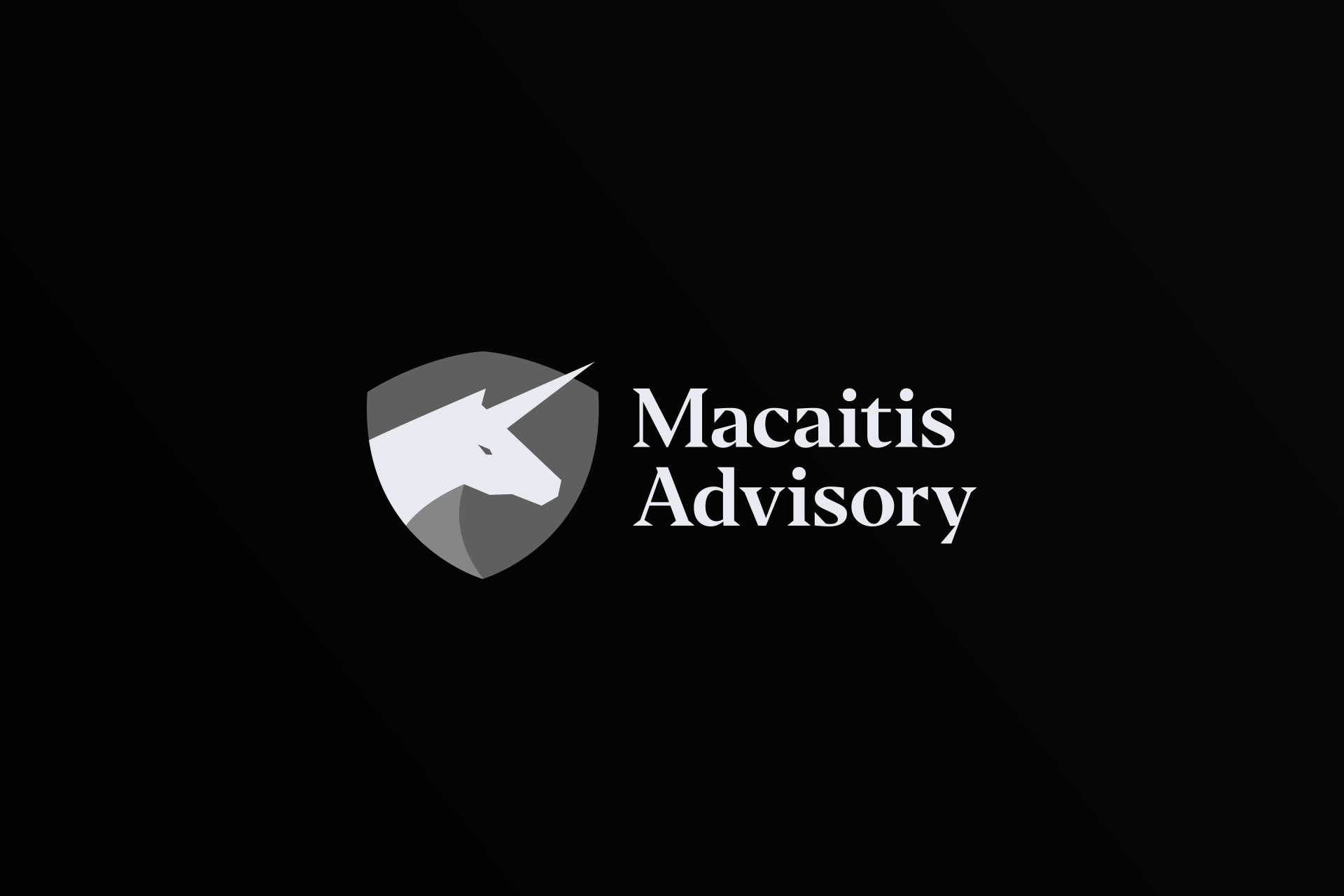 Edgardo Sanchez Logos – Macaitis Advisory